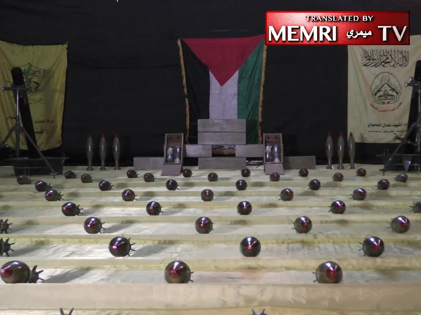 Gaza Faction Video Features Production of 120 mm Mortar Bombs: